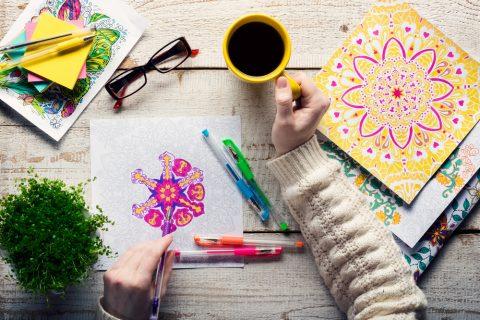 Le coloriage un loisir pour décompresser
