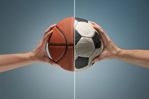 Football , handball ou basketball : comparatif