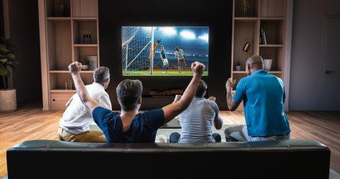 Suivre le sport sur la TV